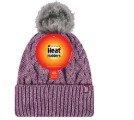 כובע נשים SOLNA עם פונפון,אדום