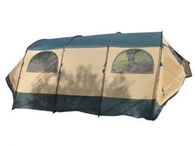 אוהל CABIN OUTDOOR קל גב משפחתי ענק עם מרפסת