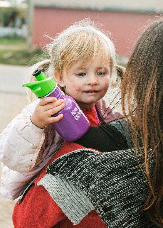 """בקבוק נירוסטה לילדים 350 סמ""""ק"""