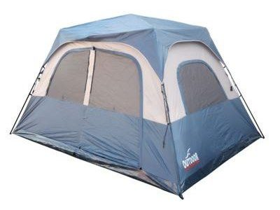 אוהל בן רגע 6 איש  קל גב