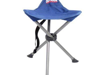 כיסא 3 רגליים קל גב
