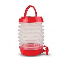 מיכל מים אקורדיון 7.5 ליטר עידן קמפינג