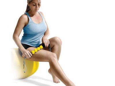 מקל רולר לעיסוי כדורי - ACCUROLLER של מותג הספורט SKLZ
