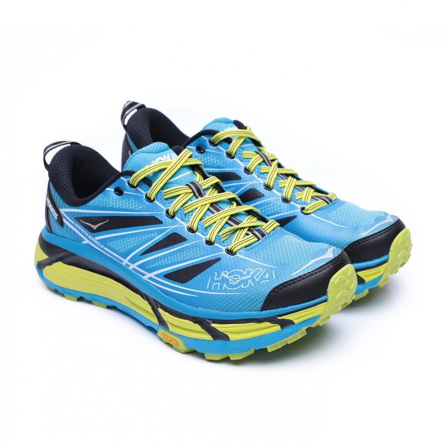 נעלי הוקה מאפטה ספיד 2 לגברים בצבע אסיד/טורקיז Hoka Mafata Speed 2