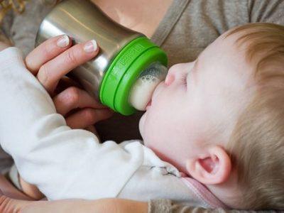 """בקבוק שתיה נירוסטה לתינוקות 266 סמ""""ק"""