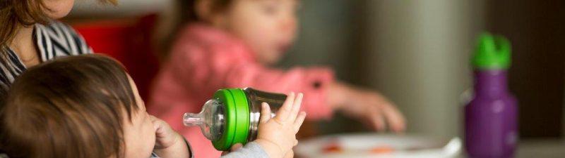 """בקבוק שתייה נירוסטה לתינוקות 148 סמ""""ק"""