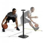 מתקן לאימון כדרור ושליטה בכדורסל