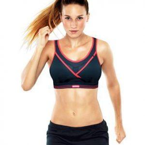 חזיית ספורט Ultimate Gym Bra שחור אדום