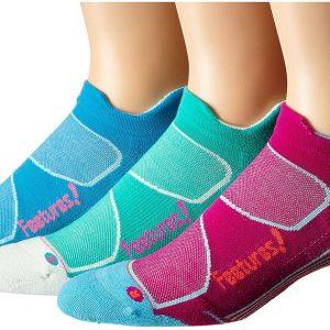 גרביי ריצה וספורט Feetures! Elite Light Cushion (עובי בינוני)