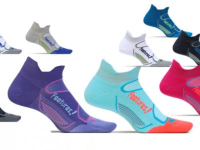 גרבי ריצה וספורט Feetures Elite Ultra Light No Show (דקות)
