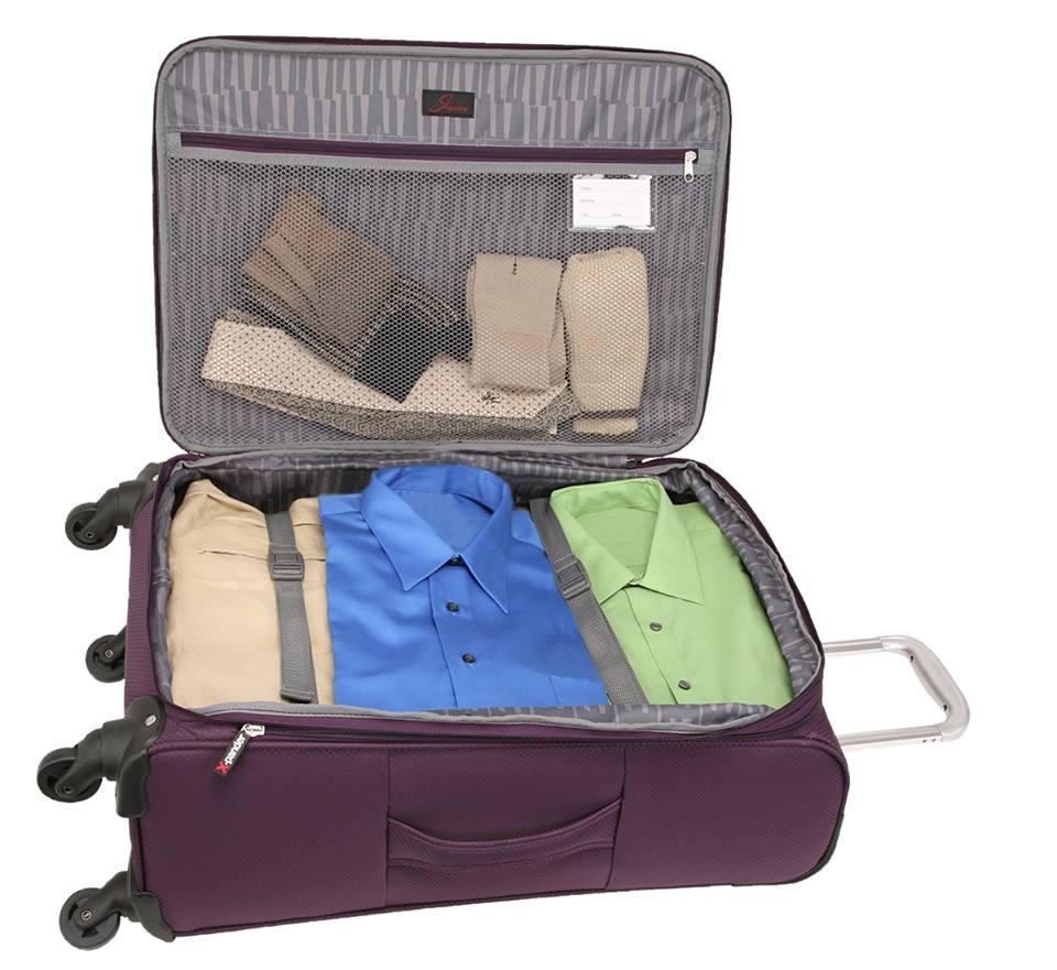 סט מזוודות  דגם OASIS של SKYWAY