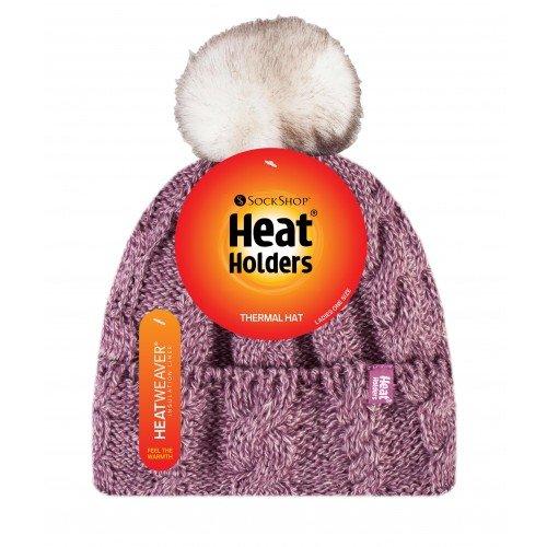 כובע פונפון של HEAT HOLDERS