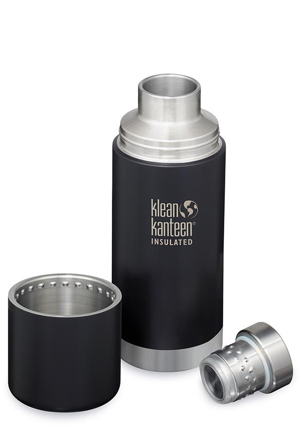 Insulated TKPro 25oz (750ml) SHALE BLACK BRUSHED STAINLESS