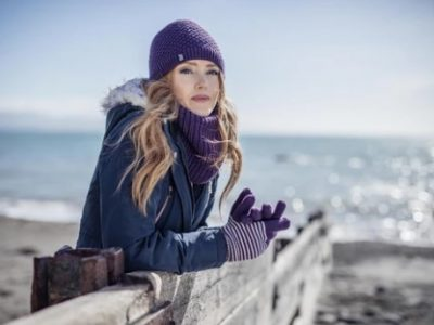 כובע תרמי  נשים  דגם  NORA של HEAT HOLDERS