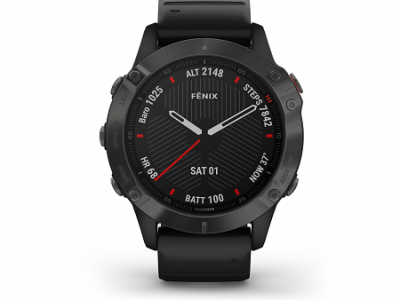 שעון GARMIN FENIX 6X - Sapphire