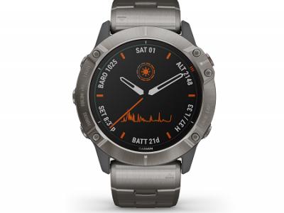 שעון  GARMIN 6X PRO SOLAR