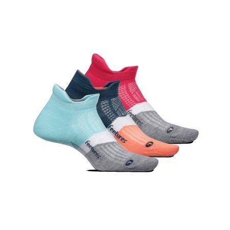 סט 4 יחידות גרבי ריצה וספורט Feetures Elite Light No Show