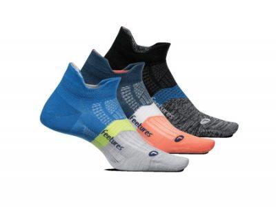 סט 3 יחידות גרבי ריצה וספורט  Feetures Elite Ultra Light No Show