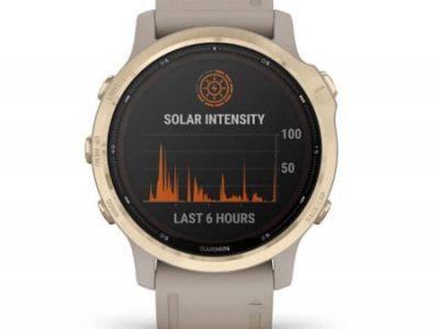 שעון GARMIN fēnix 6S - Pro Solar Edition